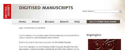 British Library Manuscript collection