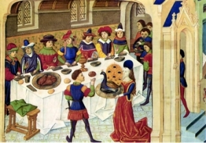 scene-of-a-medieval-banquet