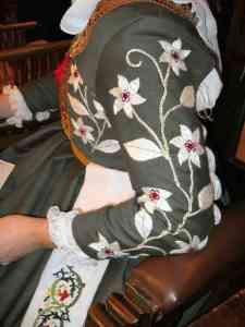 Anna Leigh embroidered garb