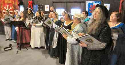 The Debatable Choir performs a concert of renaissance choral music