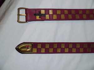 Equerry belt 1