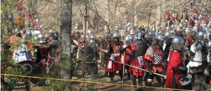 The Sylvan Army commands the Woods Battle at Gulf Wars XXII