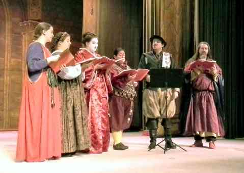 The Sylvan Singers. Photo by Arianna.
