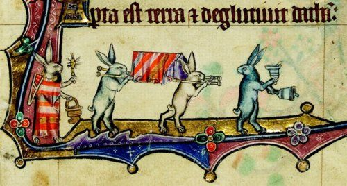 6-bunny processional