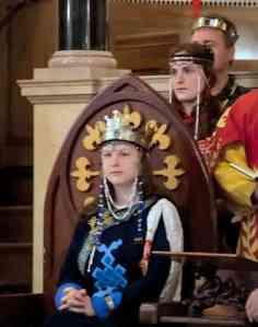 Queen Branwen, photo by Master Augusto Giuseppe da San Donato