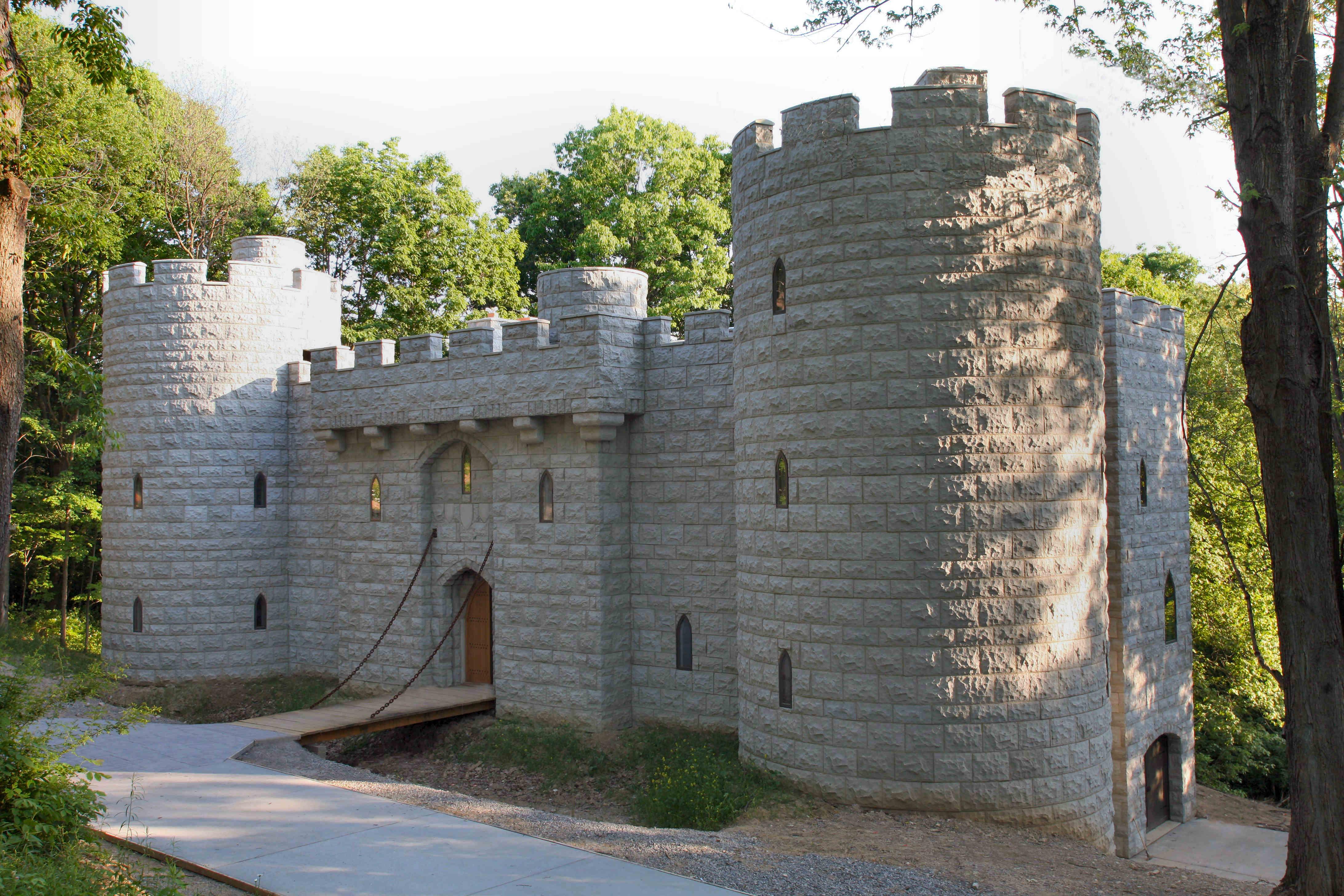 Homes that look like castles