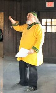 Master Dagonell Collingwood of Emerald Lake. Photo by Baron Liam macan Tsaoire