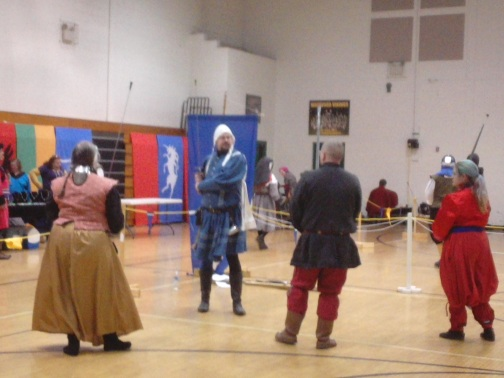 Master Donnan's German longsword class.