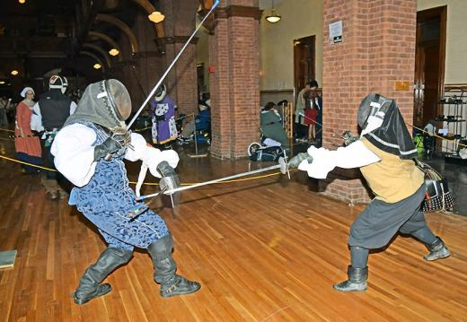 Don Fergus vs. Duchess Dorinda. Photo by Lord Simon.