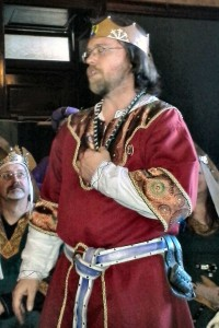 Master Tigernach mac Cathail, photo by Mistress Arianna of Wynthrope.