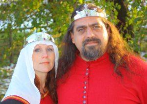 Andreas and Kallista. Photo by Master Augusto Giuseppe da San Donato.