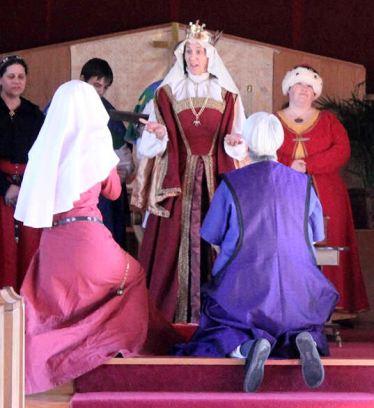 Lady Maria Carpintero and Wylde Wysse. Photo by Jinx.