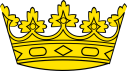 Ducal crown illustration