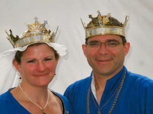 Maynard and Liadain. Photo by Duchess Anna Blackleaf.