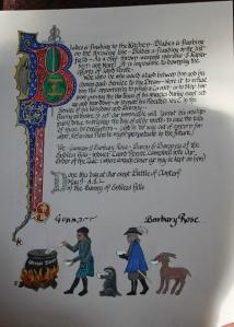 Perote's Zule (Baronial Service) award.