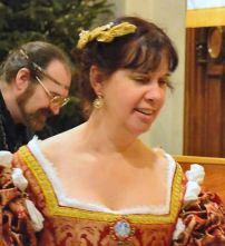 Mistress Tiercelin. Photo by Master Alaxandair O'Conchobhair.