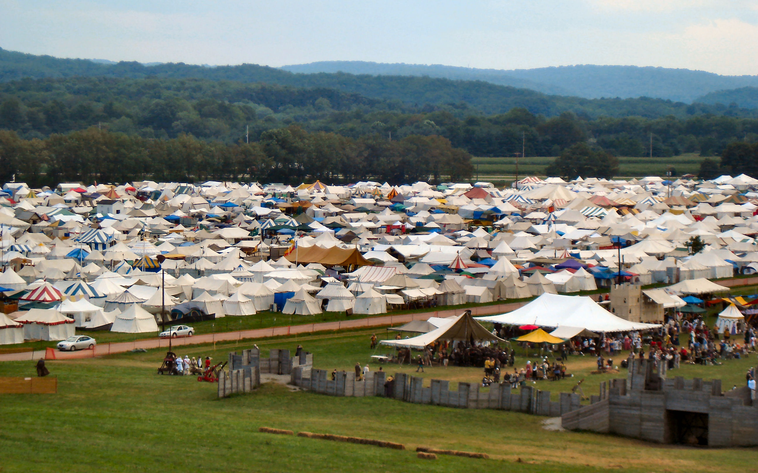 A Newcomer's Guide to Pennsic, Part 1 of 3