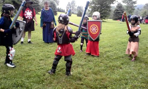 Youth fighter melee