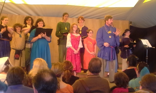The Youth Choir. Photo by Mistress Arianna.