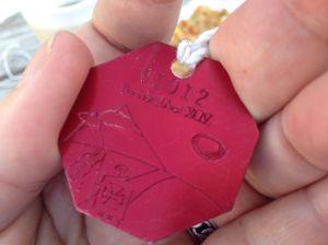 This year's Pennsic medallion, by Dame Aoife Finn
