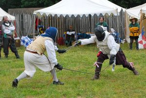 Competing in the prestigious Ruby Joust Tournament. Photo by Courtney Pachis.