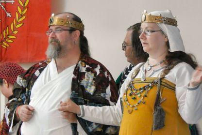 Baron Ichijo and Baroness Cerridwen. Photo by Lady Valentina de la Volpe.