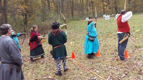 Seven Pearls Archery competition. Photo by Baron Liam macanTsaoire.