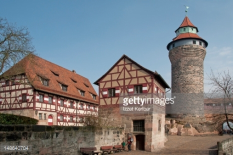 Sinwell Round Tower of Nuremberg Castle in Nuremberg, Germany (Getty Images)
