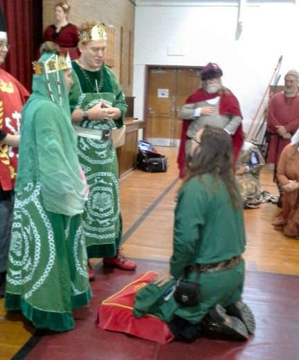 THLord Ambros Kyrielle is sent to vigil for the Order of the Laurel.