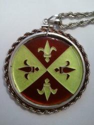 Genevieve Fleur medallion
