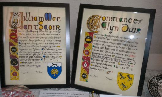 Court Barony scrolls Alaric