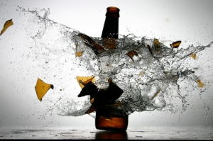 explode bottle