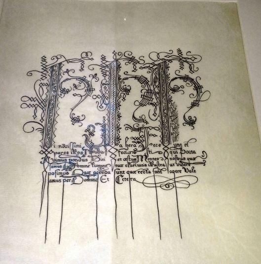 Kieran calligraphy