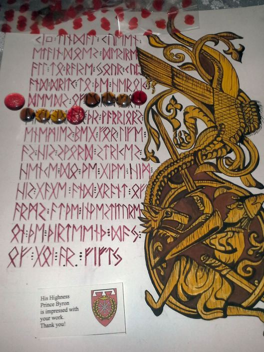 Runic scroll