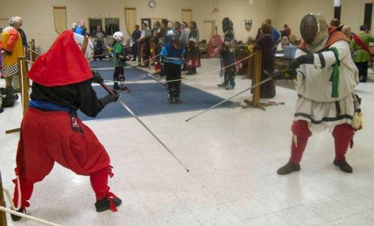 Fencing Sakuroku vs Caleb Magnus