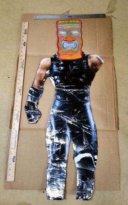 Ninja w tiki mask
