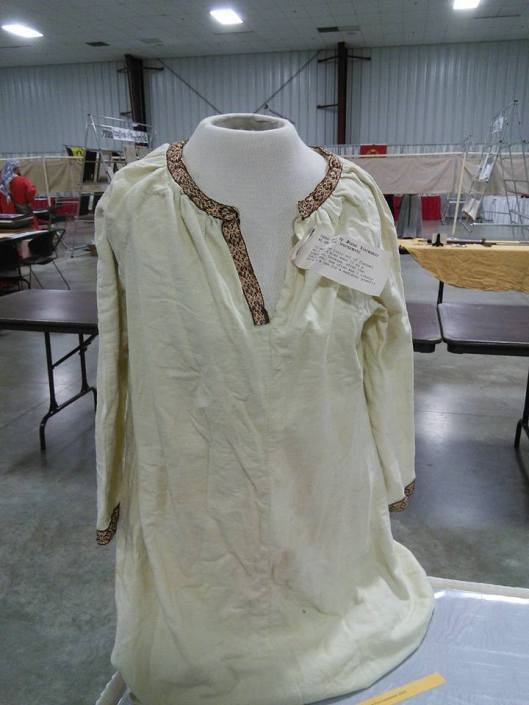 Diana Listmaker's first tunic