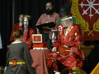 Lady Jarngerd receives a Keystone