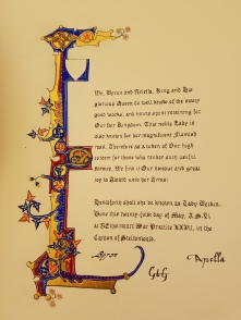 Scroll by Lady Vivienne of Yardley