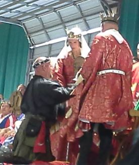 Master Giuseppe is made a Court Baron. Photo by Arianna.