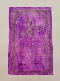 Scroll by Baroness Rosemund von Glinde