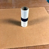 Cardboard arrow
