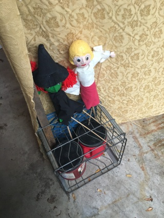 Puppets in Crate