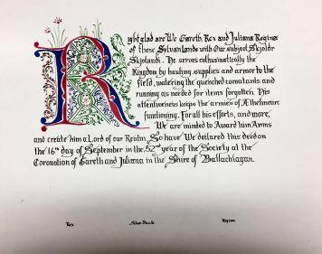 Skjoldr AoA scroll