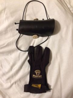 Glove and armguard