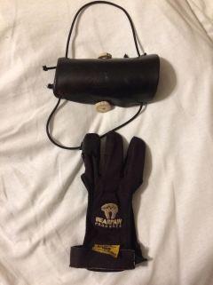Glove and armguard