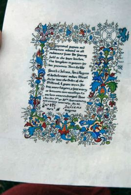 Miriel Millrind scroll