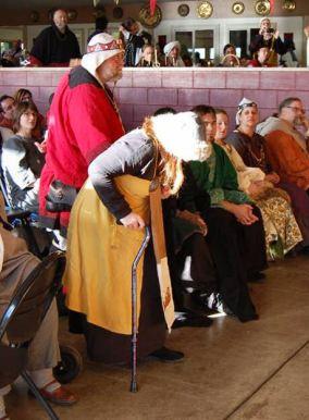 Baron Caleb and THL Renata are recognized as Huntsmen.