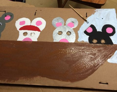 Painting rats