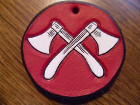 Thrown weapons medal